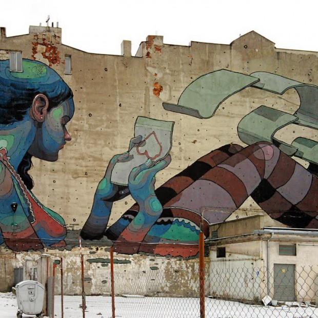 Murale. Najpiękniejsze prace na budynkach mieszkalnych
