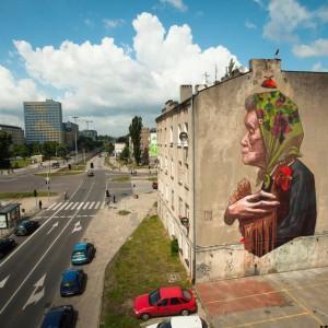 """Etam Crew, """"Madamme Chicken"""" przy al. Politechniki 16 w Warszawie, Fot. Urbansform"""