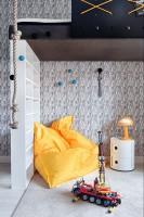 Apartament w amerykańskim stylu lat '50 - pokój dla dziecka.