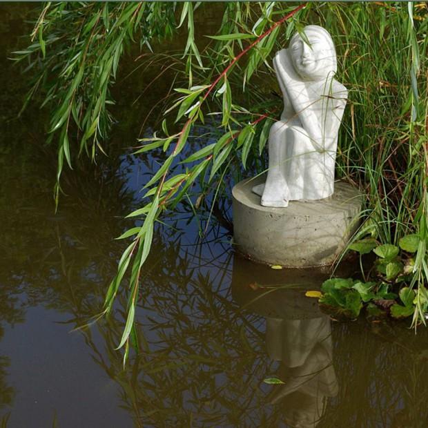 Rzeźba - sztuka w ogrodzie