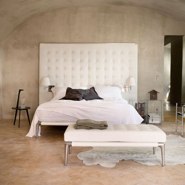 Tapicerowany zagłówek -  12 propozycji łóżek