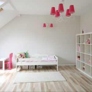 Pokój dla dziewczynki. Magia różu