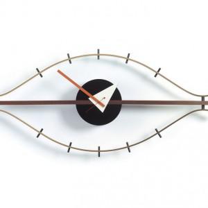 Oryginalny zegar ścienny Eye Clock marki Vitra. Projekt: Georg Nelson, cena: ok. 1.200 zł. Fot. Vitra.