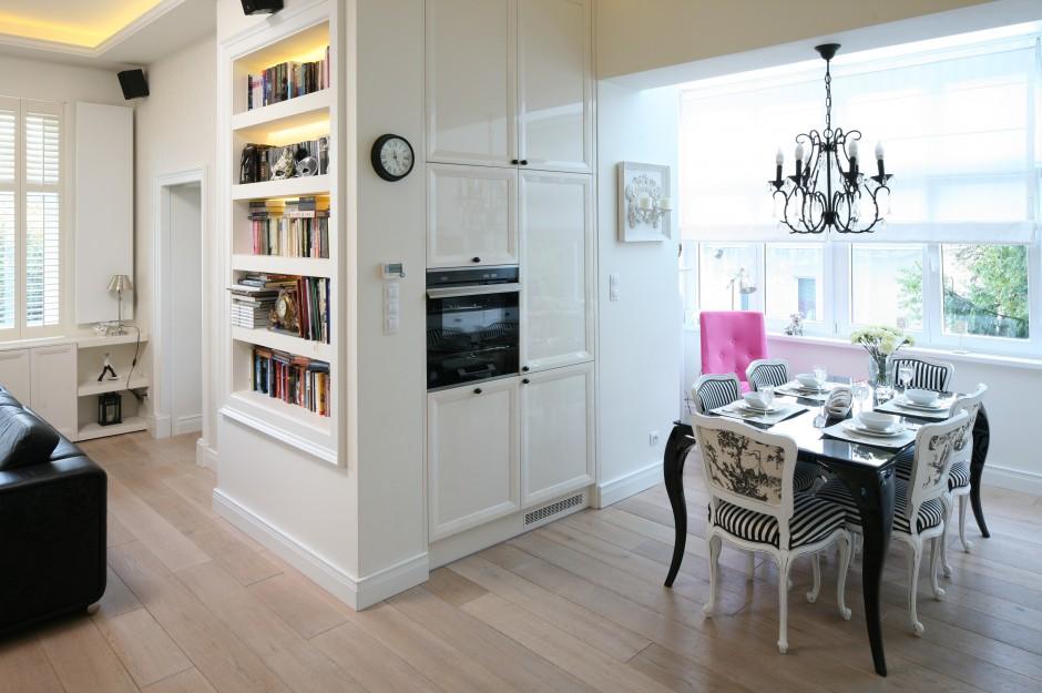 Piękna kuchnia Klasyczna i elegancka -> Klasyczna Kuchnia Z Jadalnią