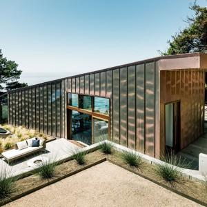 Maksymalnie prosta, nowoczesna bryła. Fot. Fougeron Architecture.