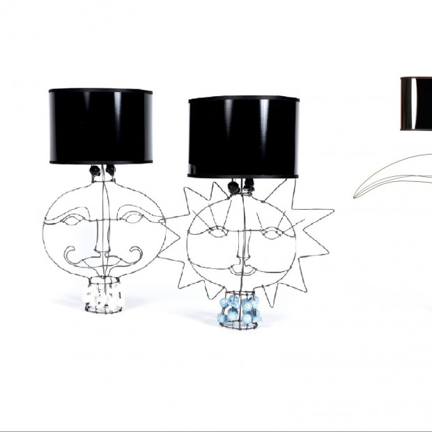 Marie Christophe - projektantka ażurowych lamp