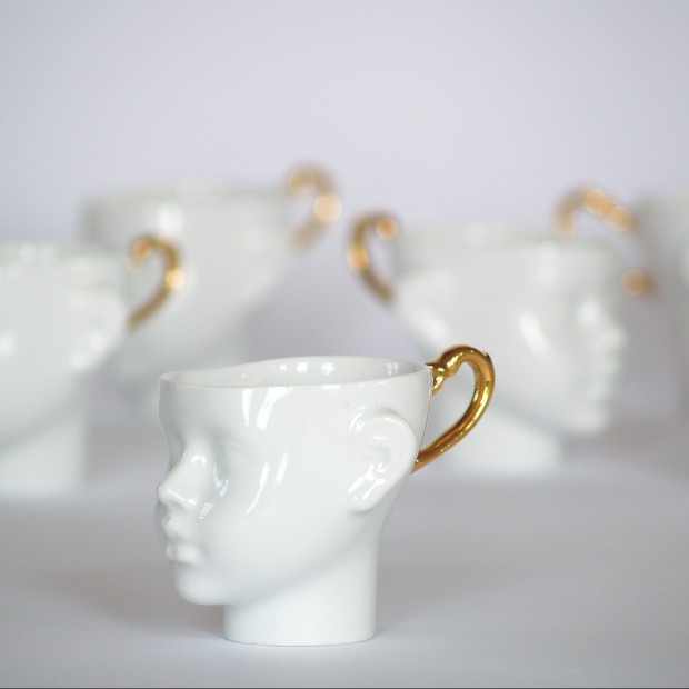 Niezwykłe filiżanki z porcelany