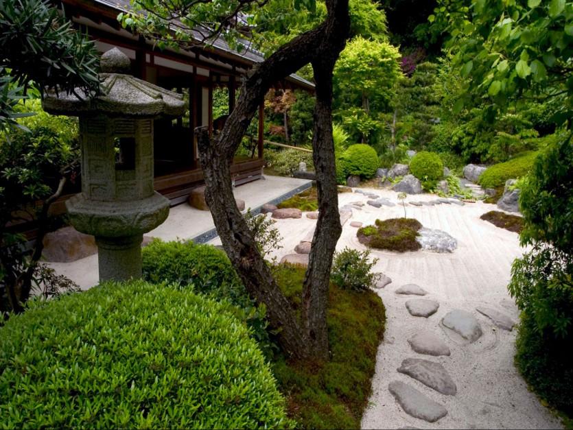 Ogród kamienny, Świątynia  Jyomyoji, Kamakura. Fot. Wallpaperdekstoppc