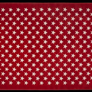 Czerwony dywan Alfombra Estrellitas.