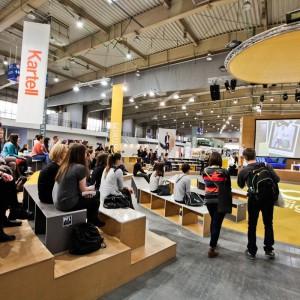 Sander Mulder na scenie arena design. Fot. materiały organizatora.