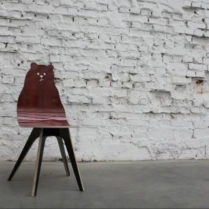 Krzesło Miś. Fot. Tu Patrz! Wzorcownia.