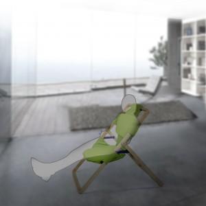 Krzesło do domu i ogrodu. Niezwykły projekt młodej artystki