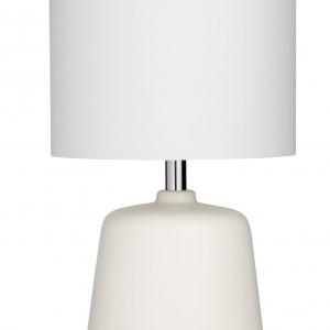 Subtelna lampa stołowa w nowoczesnym stylu. Fot. Isme.