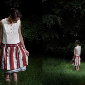 Karolina Zięba, crl dwa zestawy ubrań.