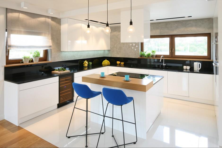 Kuchnia wyposażona w dwa Oświetlenie w kuchni Strategiczne miejsca  St   -> Kuchnia Prowansalska Oświetlenie