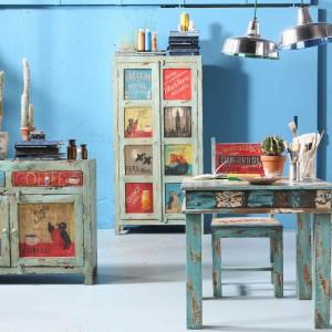 Kolekcja ręcznie malowanych mebli. Fot. Kare Design.