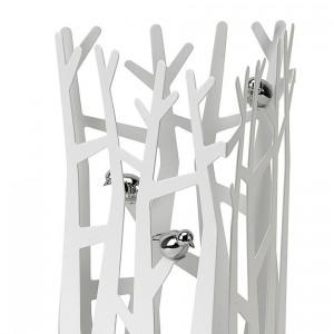 Stojak na biżuterię Canopy wykonany z metalu. Proj.Umbra Group / Rossi.