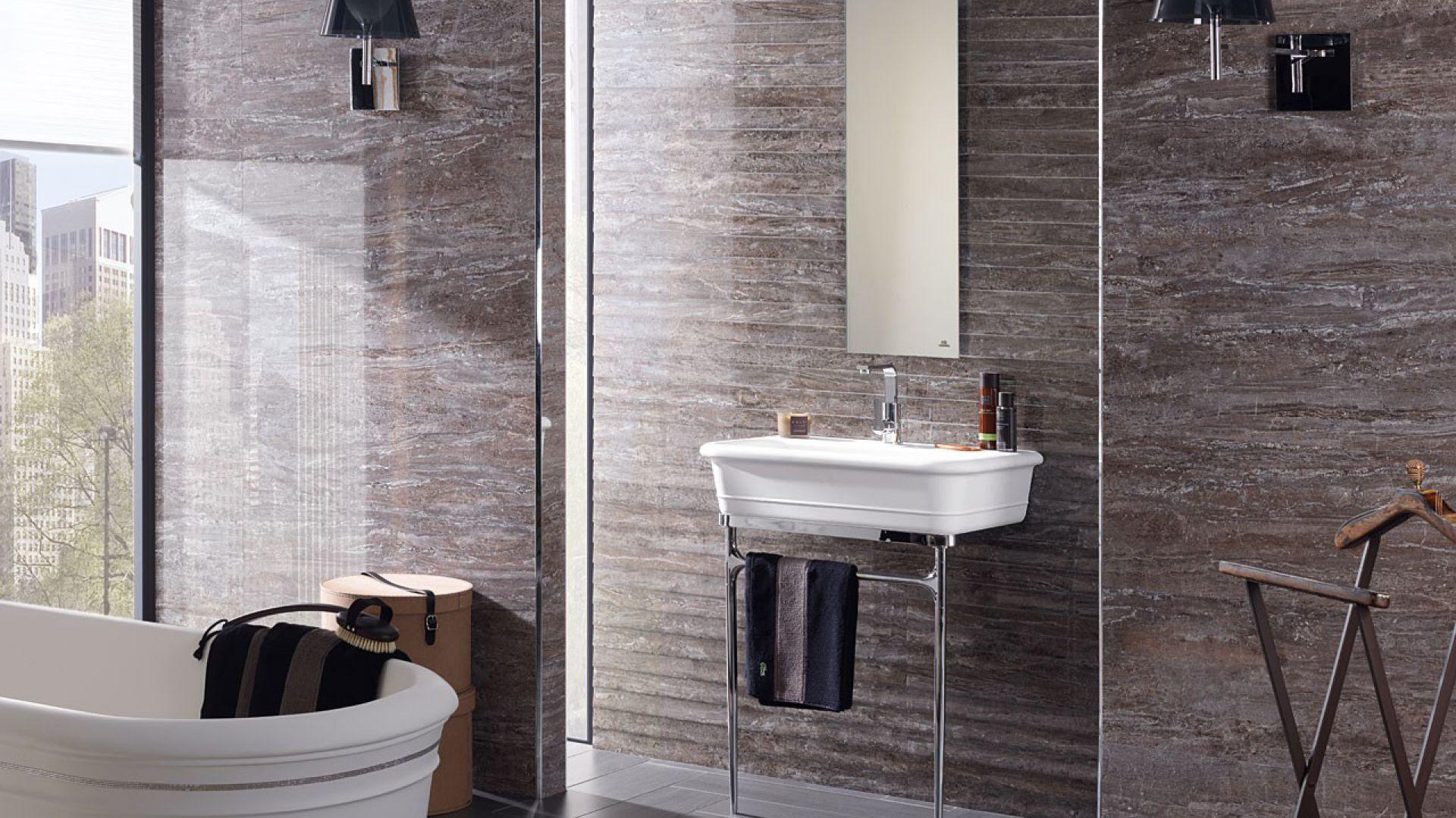 Revestimiento porcelanosa p ytki do azienki modny for Lumiere chauffante pour salle de bain