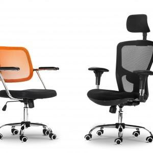Atrybut nowoczesnego gabinetu - fotel Office. Fot. Custom Form.