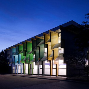 Szkoła Longford Community. Proj.  Jonathan Clark Architects