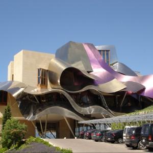 Hotel Marques de Riscal, Elciego, Hiszpania. Fot. Laorosa Design