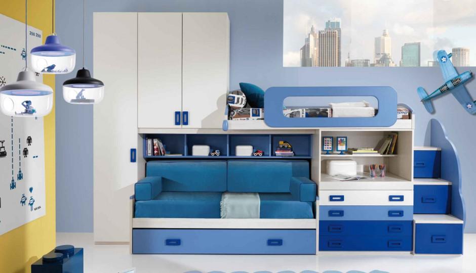 aran acja pokoju kilkulatka pok j dla ch opca 15 najciekawszych pomys w strona 14. Black Bedroom Furniture Sets. Home Design Ideas
