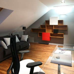 Gabinet na piętrze. Fot. Bartosz Jarosz.