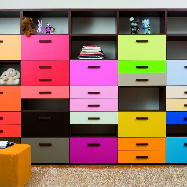 Komody i półki do pokoju dziecka