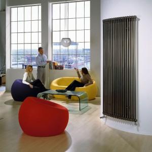 Charleston Technoline - elegancki i ponadczasowy, udział energii oddawanej przez promieniowanie, bezpieczeństwo użytkowania dzięki zaokrąglonym obrysom, bogata paleta wysokości, długości i szerokości. Fot. Zehnder.