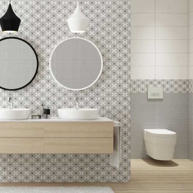 Mozaika do łazienki. 30 inspirujących aranżacji