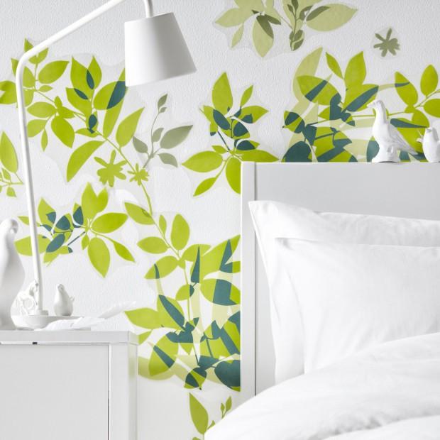 Zielona sypialnia – pomysł na kolorowe wnętrze