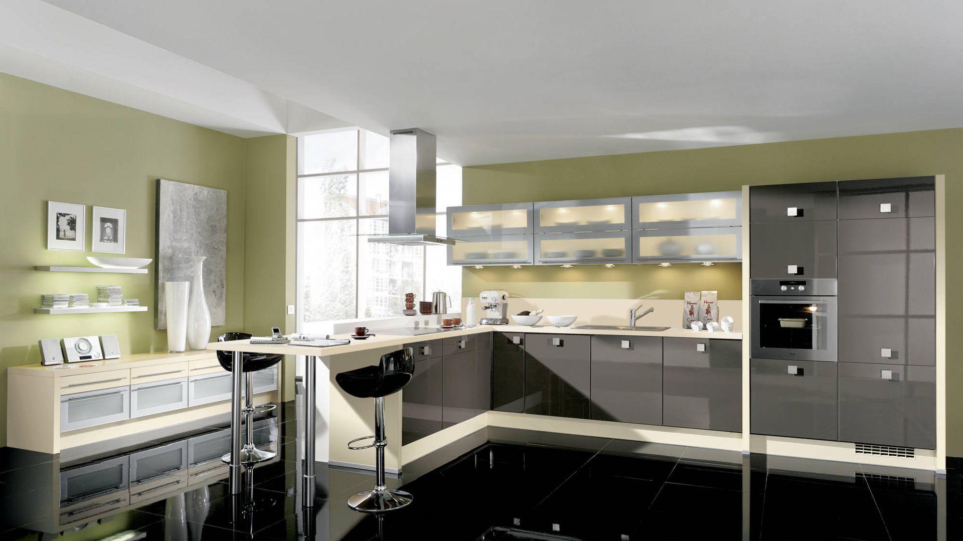 Meble kuchenne z programu 15 pomysłów na zieloną   -> Kuchnia Ikea Zielona