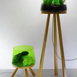 Efektowna lampa podłogowa Planta marki Brokis.  Na zamówienie. Marka: Brokis. Sprzedaż: Akademia Architektury.
