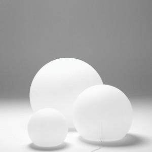 Lampa Happy Apple do wnętrz i do ogrodu - świecące ogromne kule. Marka: Pedrali. Sprzedaż: Atak Design. Cena: ok. 550 zł.