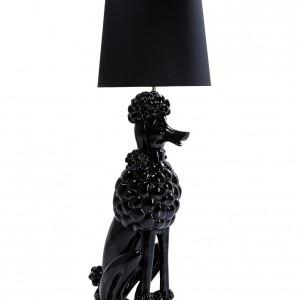 Lampa stojąca w kształcie czarnego pudla - pomysł na miarę Mistrza i Małgorzaty? Marka: Kare Design. Sprzedaż: Futuri. Cena: ok. 3 tys. zł.