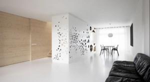 Projektant wnętrz, Justyna Majkowska podsuwa pomysł jakpogodzić styl skandynawski i industrialny w kuchni i przedpokoju.
