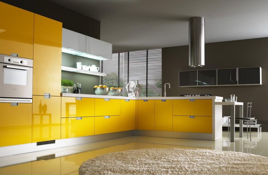 nowoczesne meble kuchenne piękne kuchnie w ż243�tym