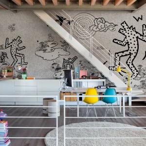 """Trend """"Murale"""". Najnowsza kolekcja naśladujących murale tapet Wall&Deco. Fot. Wall&Deco/Square Space."""