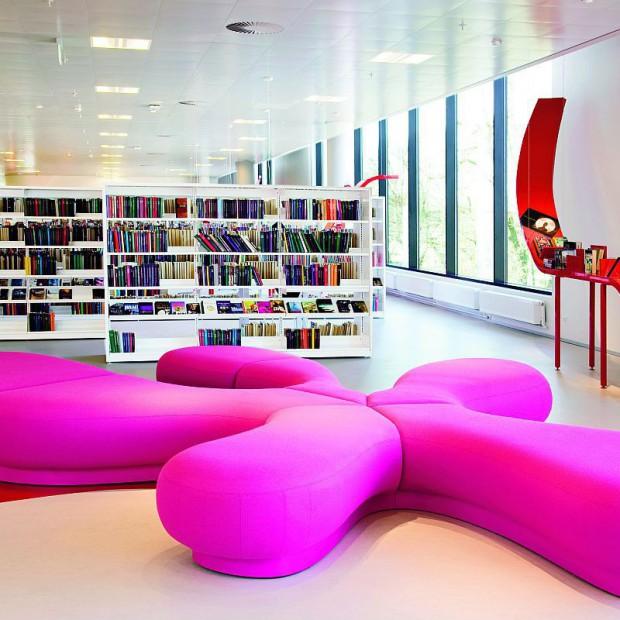 Hjorring Central Library. Tu mieszka książka