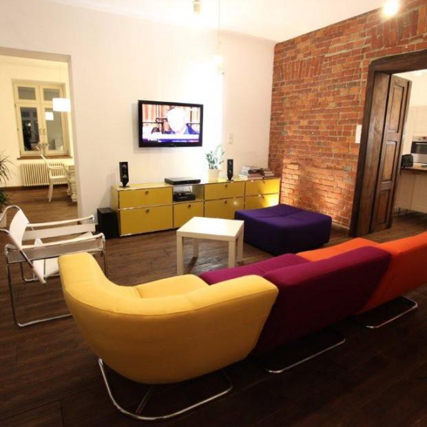 Salon w eklektycznym stylu - zobacz piękne wnętrze