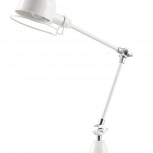 Techniczna lampka w bieli. Fot. Zuiver.