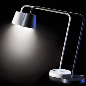 Lampy Tisdag w kontrastowych kolorach. Fot. Ikea.