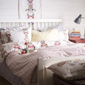 Inspiracje: sypialnia w stylu folk