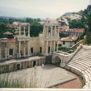 Amfiteatr w Plovdiv, Bułgaria