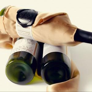 Opakowanie regionalnego wina. Projekt: Emilia Pyza.