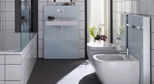 Niewidoczne, zajmują niewiele miejsca, pozwalają ukryć instalację, idealne nawet do niewielkiej łazienki.