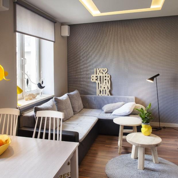48-metrowe mieszkanie w Łodzi: zobacz, jak je urządzono