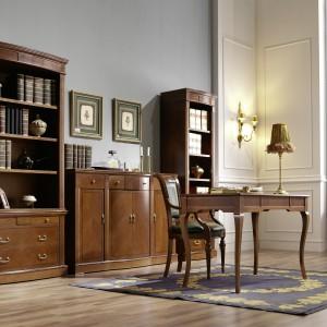 Domowy gabinet w stylu klasycznym. Fot. Panamar.