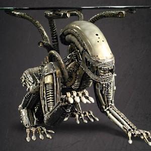 Alien Table - stolik dla odważnych. Proj. i fot. Promech.