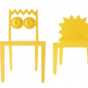 Simpsons Chairs - kolekcja krzeseł projektu biura projektowego  56th studio. Fot. 56th Studio.